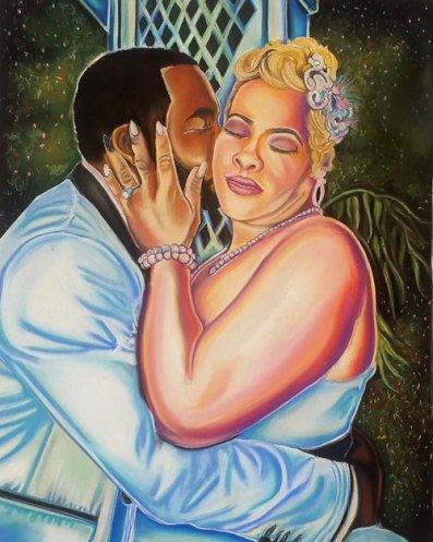 Wedding+Anniversary+Gift+Pastel+Portrait